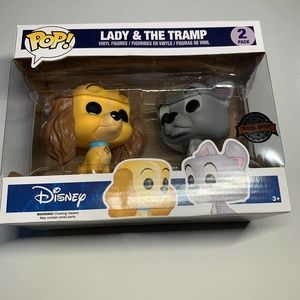 Funko Pop Lady & The Tramp Disney 2 Pack